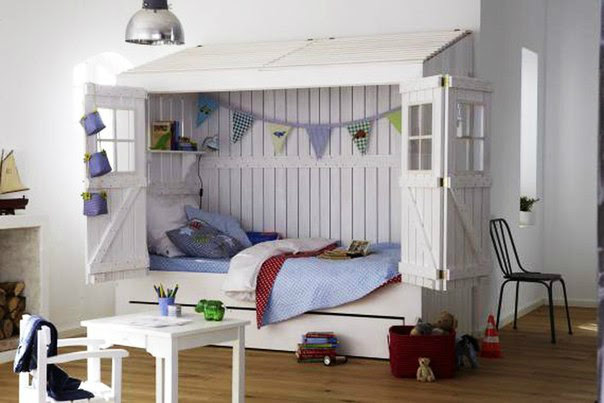 10 Fabulous Boys' House Beds