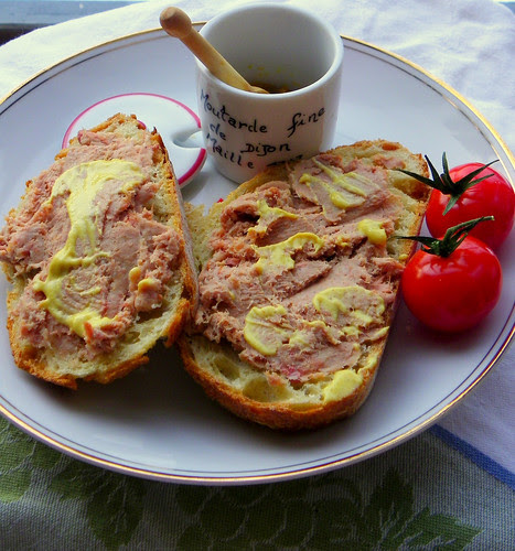 Duck Rillettes On French Country Bread