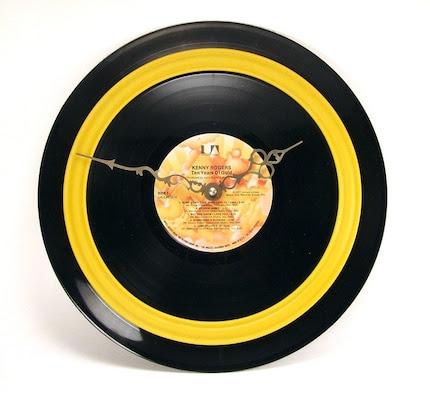 Record Album Clock - Country