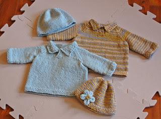 Twin sweaters