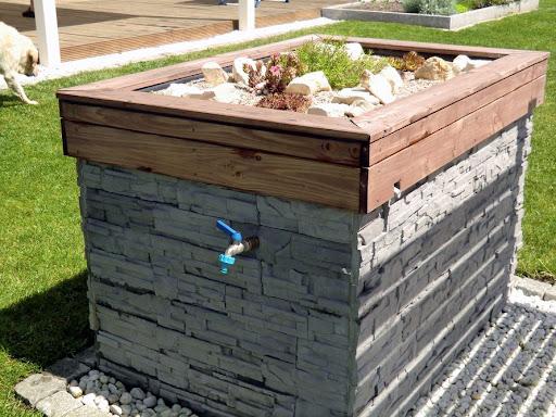 Pool eingraben ohne beton for Pool mit teichfolie