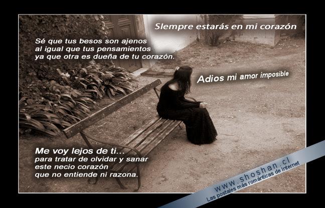 Adios Mi Amor Imposible Te Dejo
