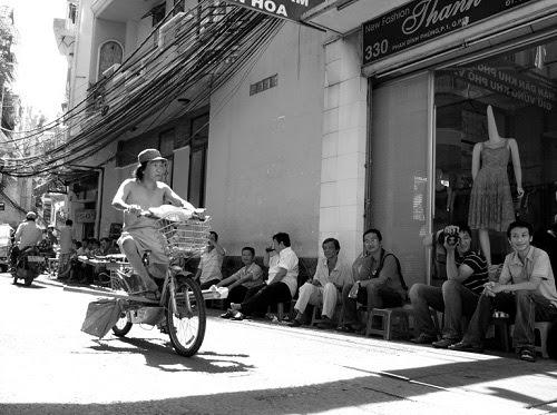 Sài Gòn, cà phê cóc, cà phê, vỉa hè