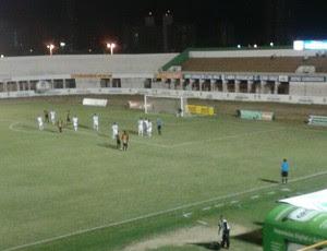 Potiguar de Mossoró x Globo FC (Foto: Sérgio Fogaça/Inter TV Costa Branca)