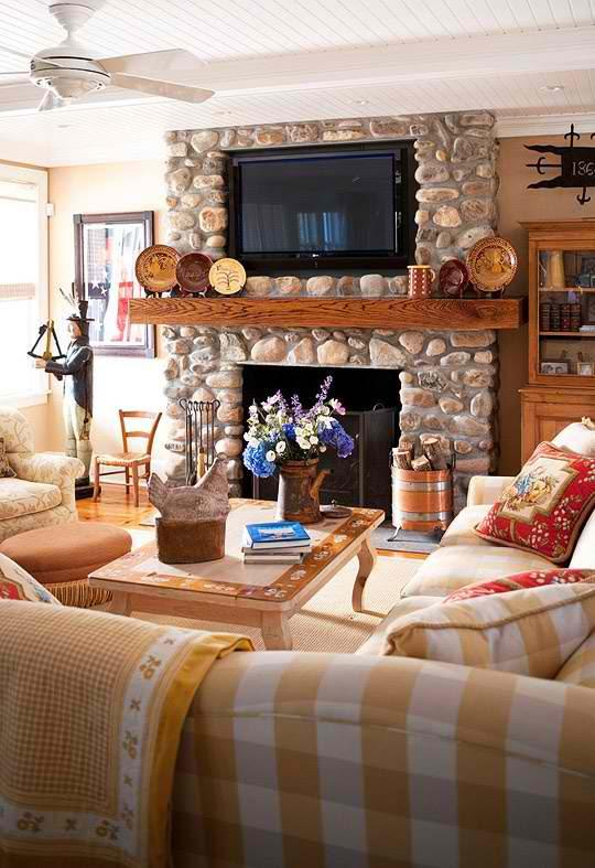 20 Amazing Fireplaces With Tv Above Fireplace Tv Ideas Decoholic