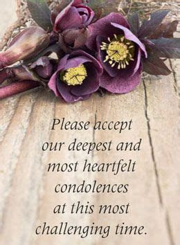 Words of Condolence for the Loss of a Loved One   Condolences