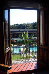 View from Hotel Room, Uruapan