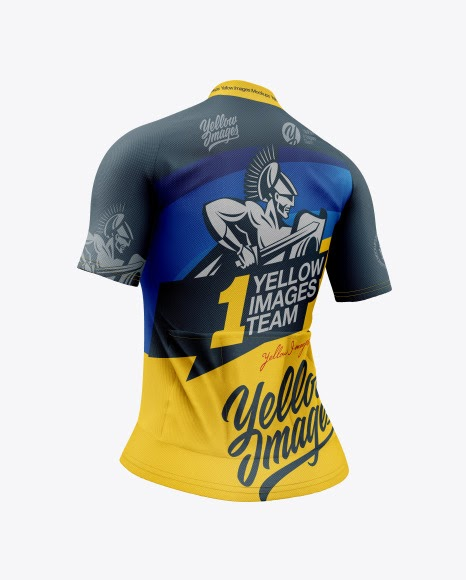 Download Women`s Cycling Jersey Jersey Mockup PSD File 100.7 MB ...