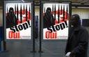 Swiss posters against minarets (Photo: AP)