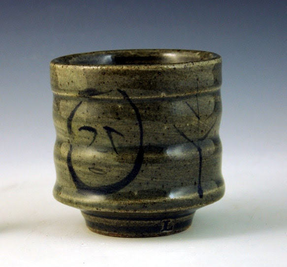 celadon teabowl or cup stoneware