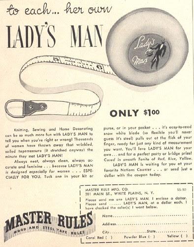 Lady's man
