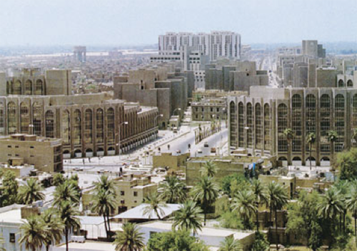 Baghdad in 2002 before the Iraq War
