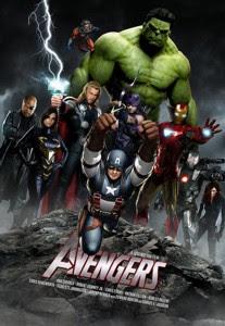 avengers poster Film Superhero Terlaris Yang Wajib Ditonton Tahun 2012
