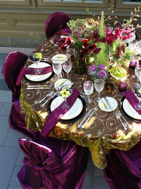 Deep Magenta and Charteuse Details   Wedding Reception