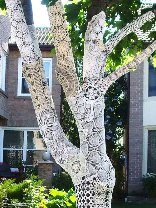 Stunning lace.