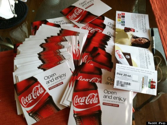 year supply coke