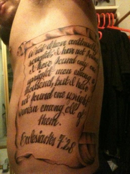 New Design Tattoo Rib Qoute Tattoomagz