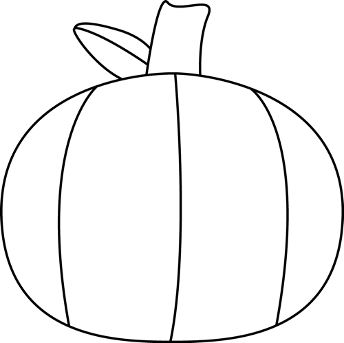 Black And White Pumpkin Best Stock Vector Black White Pumpkins