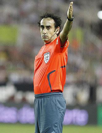 Iturralde se convierte en el árbitro que más penaltis ha pitado en la historia de Primera