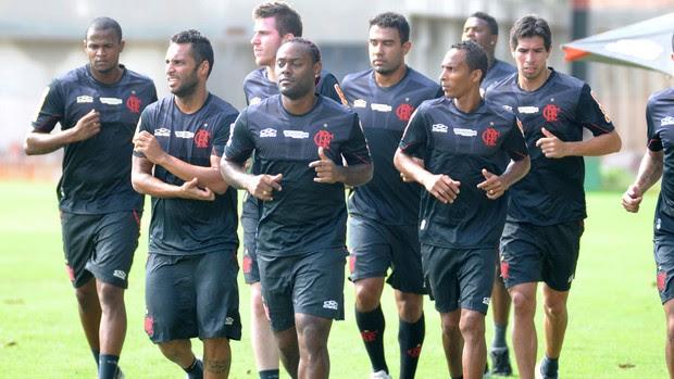 treino Flamengo (Foto: Alexandre Vidal / Flaimagem)