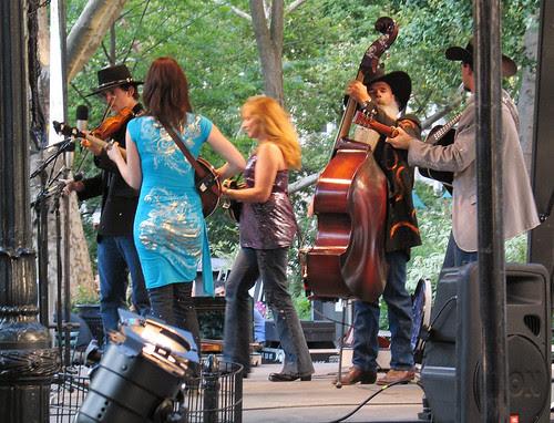 Bluegrass in Mad Sq. Park