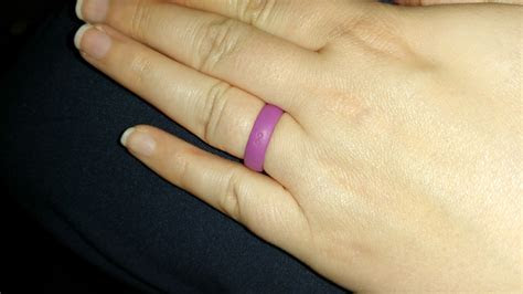 Groove Silicone Wedding Band   Lilac Purple   Groove Life