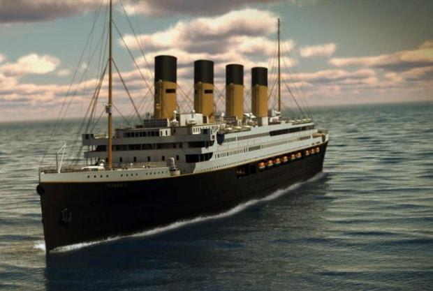 Viagem inaugural do Titanic II já tem 50 mil pessoas na lista de espera Divulgação/