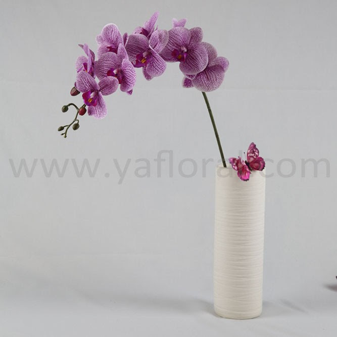 Wholesale Artificial Flower Artificial Blue Orchids