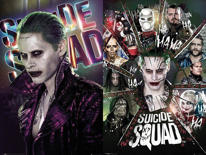 Resultado de imagem para Suicide Squad posters
