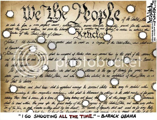 Obama Shooting Freedom