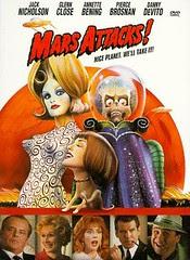 Mars Attacks! DVD