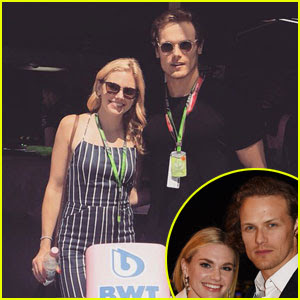 Sam Heughan & MacKenzie Mauzy Are Still Going Strong!