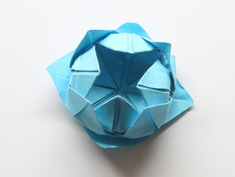 Easy Origami Lotus Flower Tutorial - DIY - Paper Kawaii - YouTube | 1080x1440