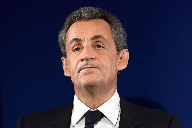 Nicolas Sarkozy, 62 ans, est renvoyé en procès... (Photo archives Agence France-Presse)