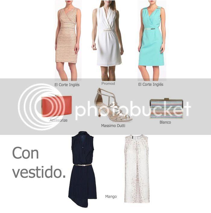 Look Bautizo Vestido