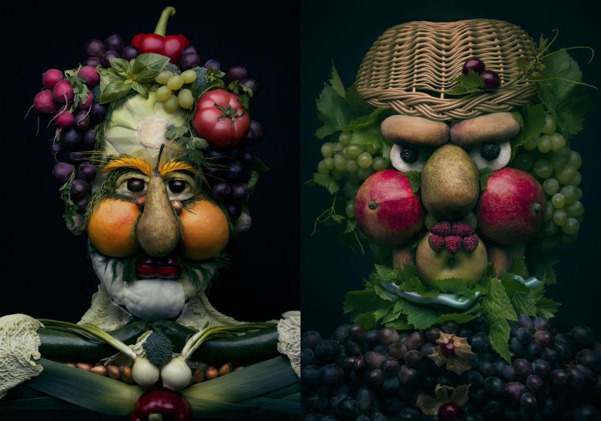 Artista polonesa cria uma incrível coleção inspirada na arte de Giuseppe Arcimboldo 01