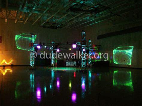 high school video dance party dj dual screen dude walker