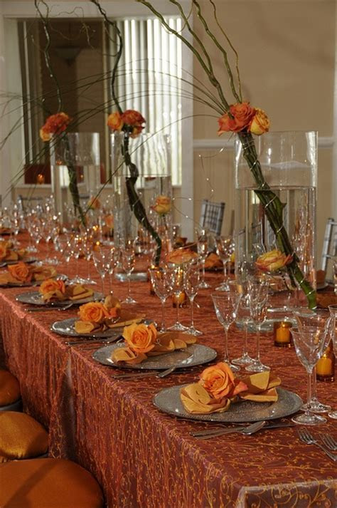 78 Best images about Burnt Orange and Brown Wedding on