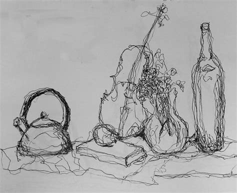 examples  contour drawings   interesting