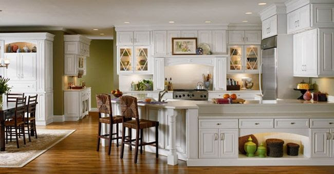Lowes-Kitchen-Cabinets-with-Maple-White – Lowe's Kitchen Cabinets ...