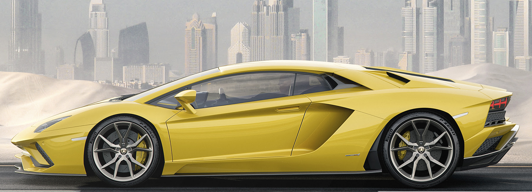 lamborghini aventador S is a supersleek 740 hp monster