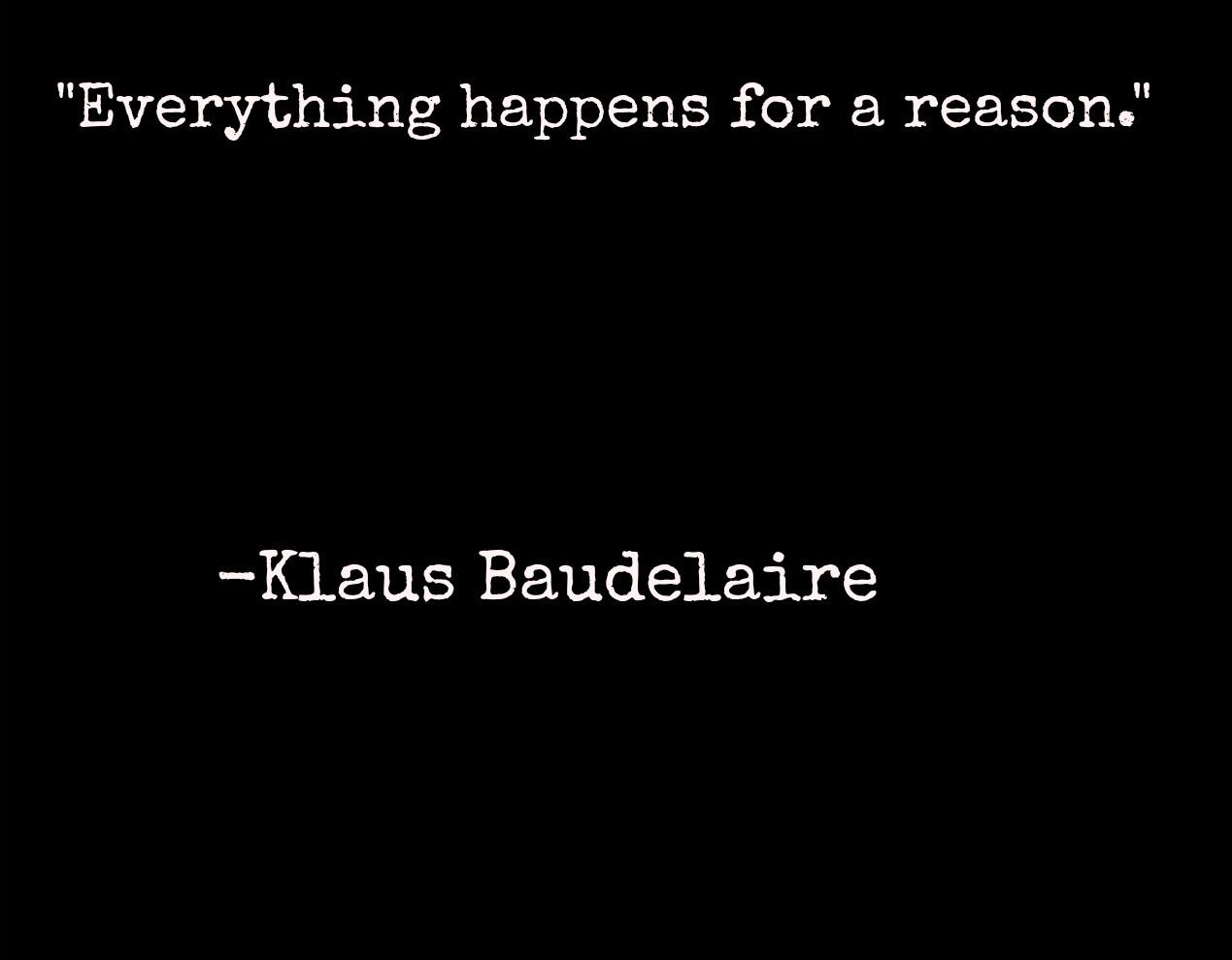 Klaus Baudelaire Fanfictions Images Klaus Baudelaire Quote Hd