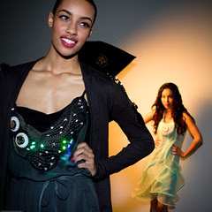 Twinkle Dress and Twinkle Cardigan + EL Wire D...