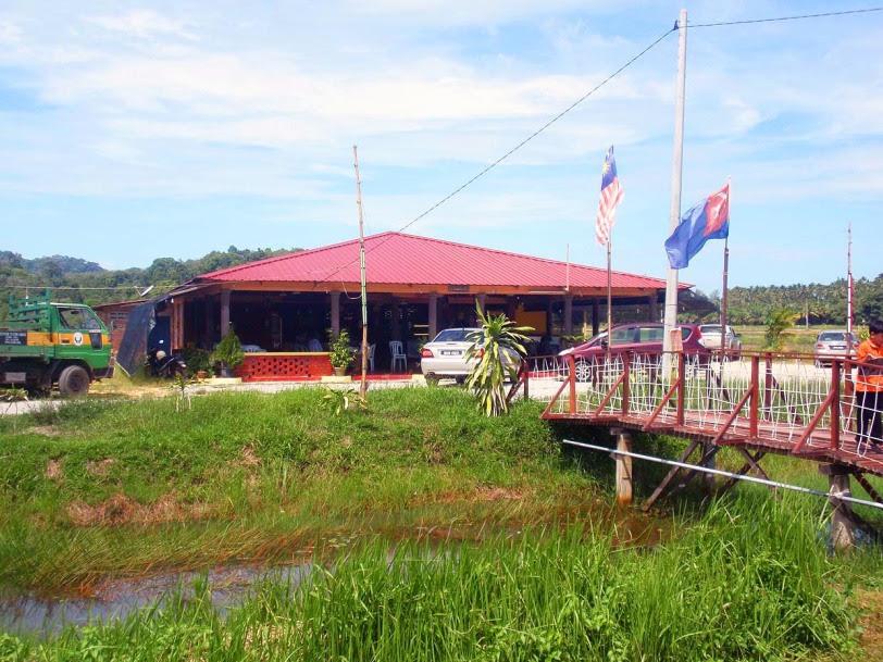 air papan chalet dan resort