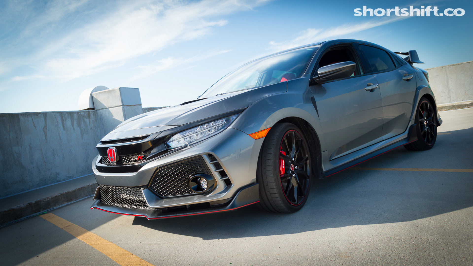 Wallpaper 2017 Honda Civic Type R