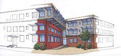 Douglas Street Artist Housing - Image courtesy CuDC and Manna