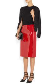 ValentinoPatent pencil skirt