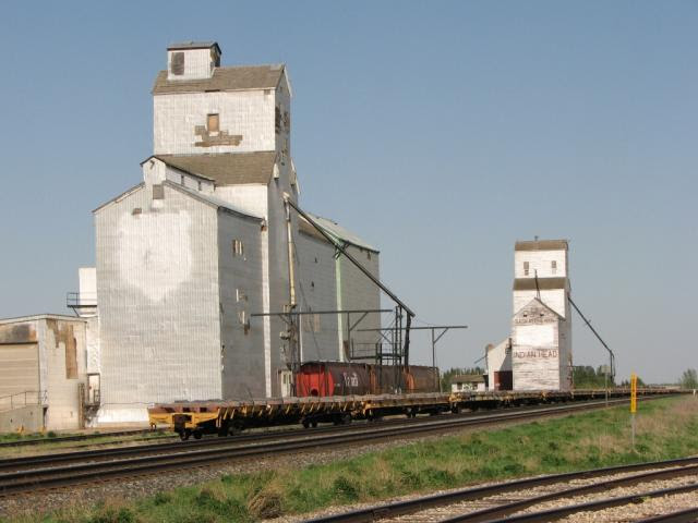 Indian Head grain elevators