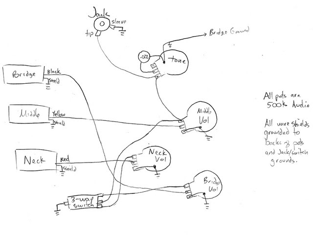epiphone wiring diagram of 300 s image 10