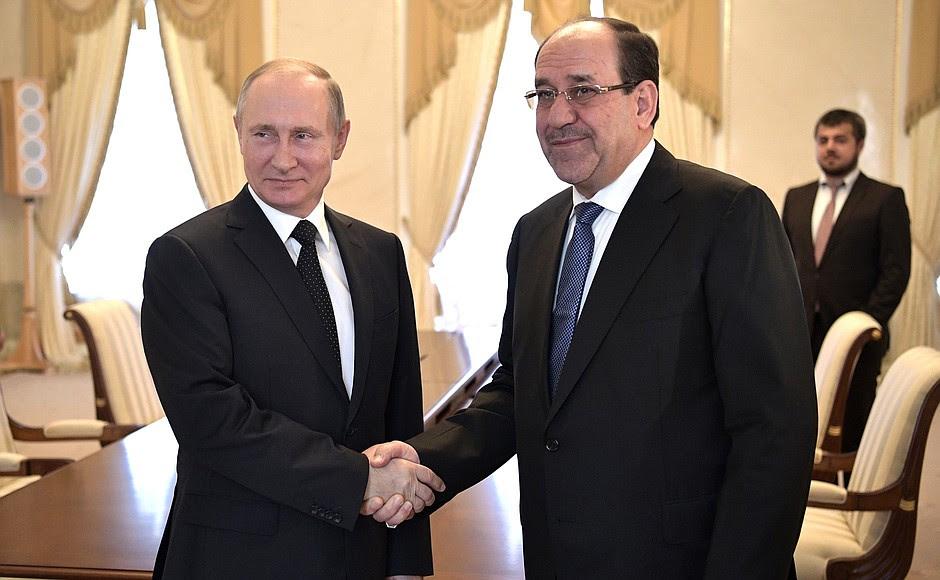 Incontro con il Vice-Presidente dell'Iraq, Nouri al-Maliki.